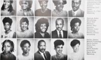 A Howard University yearbook contains Kamala Harris's photo. MUST CREDIT: Washington Post photo by Marvin Joseph