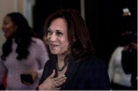 Sen. Kamala Harris, D-Calif., attends a Black Enterprise Women of Power Summit in Las Vegas in March 2019. CREDIT: Washington Post photo by Melina Mara