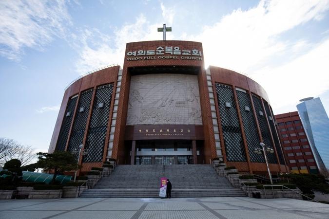 The Yoido Full Gospel Church in Seoul. Photo by: SeongJoon Cho — Bloomberg Location: Seoul, South Korea