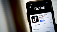 In this photo illustration, the download page for the TikTok app is displayed on an Apple iPhone on August 7, 2020 in Washington, DC. [Photo/Agencies]