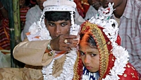 The Covid-19 pandemic has prompted a spike in child marriages across India.PHOTO: AFP