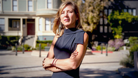 Kristin Hull, founder and chief executive officer of Nia Impact Capital, in Oakland, Calif., on Aug. 10, 2020. MUST CREDIT: Bloomberg photo by Marissa Leshnov.