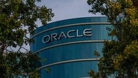 Oracle headquarters in Redwood City, Calif., on Aug. 18, 2020. MUST CREDIT: Bloomberg photo by David Paul Morris