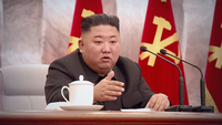 North Korean leader Kim Jong-un. (KCNA-Yonhap)