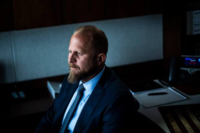 Brad Parscale, a former campaign manager for President Trump, poses for a portrait at the Northern Virginia Republican National Convention annex on July 25, 2019, in Arlington, Va. CREDIT: Washington Post photo by Jabin Botsford