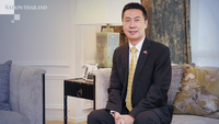 Yang Xin, charge d'affaires at the Chinese Embassy in Thailand