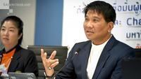 Thanavat Phonvichai, president of the University of the Thai Chamber of Commerce (UTCC)