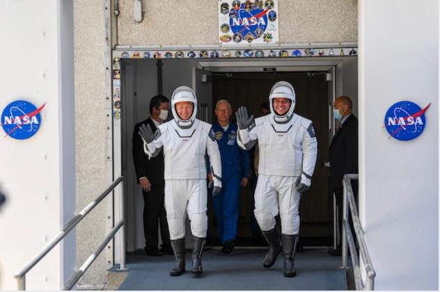 NASA astronauts/File photo