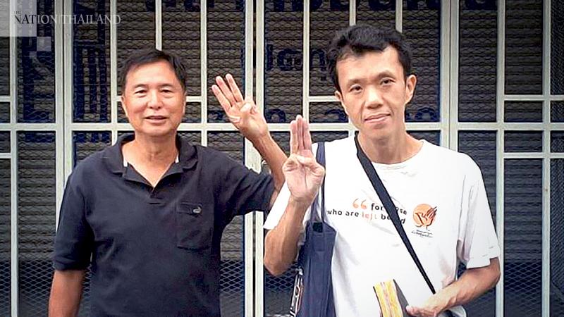 Ekkachai Hongkangwan, right