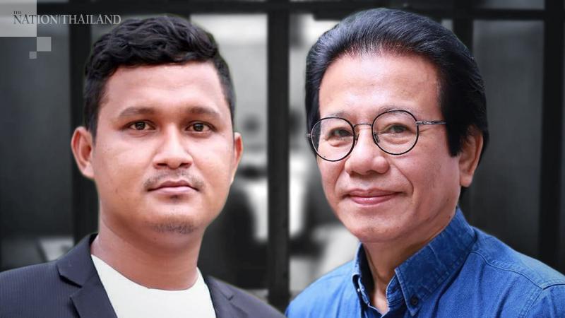 Left : Shinawatra Chankrajang  Right : Dr Tossaporn Serirak