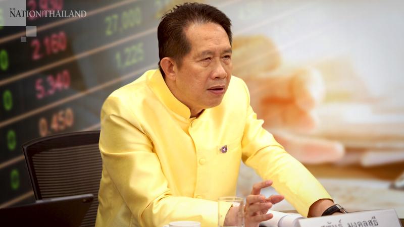 Supant Mongkolsutee, chairman of the Federation of Thai Industries (FTI)