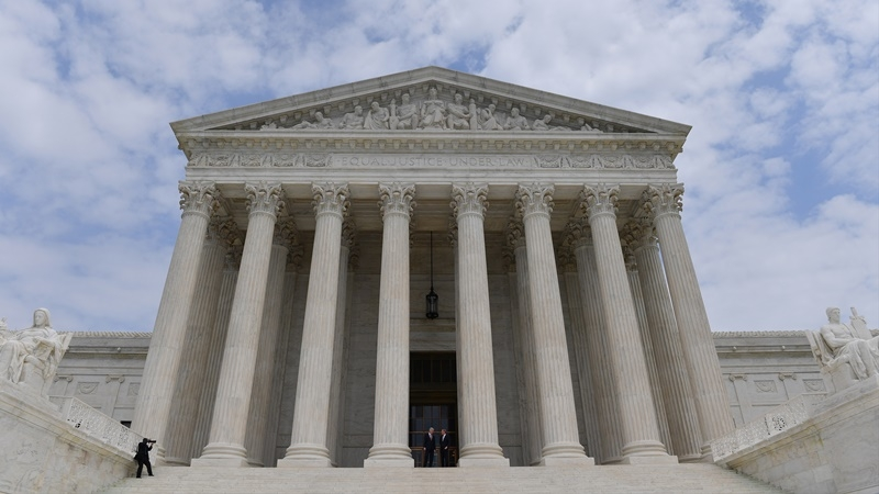 The Supreme Court. MUST CREDIT: Washington Post photo by Ricky Carioti