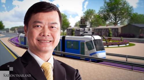 MRTA governor Pakapong Sirikantramas.