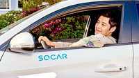 SoCar brand represenrative Kang Ha-neul (SoCar)
