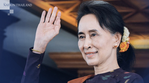 Myanmar's ruling National League for Democracy (NLD) leader Aung San Suu Kyi