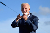 Democratic presidential candidate Joe Biden. (Photo by Angela Weiss / AFP)