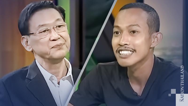 Paiboon Nititawan, right, Nantapong Panmas, left