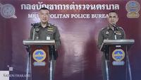 Pol Maj-General Piya Tawichai (Left) and Pol Maj-General Jirasan Kaewsangek (Right)