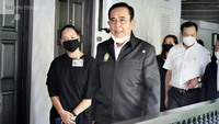 Prayut Chan-o-cha, Prime Minister, visited Sheraton Samui Resort Hotel to check the Alternative Local State Quarantine (ALSQ) for foreign tourists.