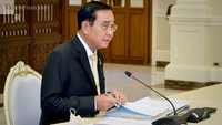 PM Prayut Chan-o-cha chairs the Board of Investment meeting on Wednesday.