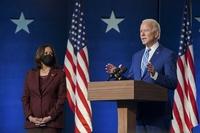 US President-elect Joe Biden with his deputy Kamala Harris. (Photo: Twitter/@JoeBiden)