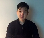 Kim Han-sol, a man believed to be Kim Jong-nam's son, appears on YouTube (Screenshot captured from YouTube)