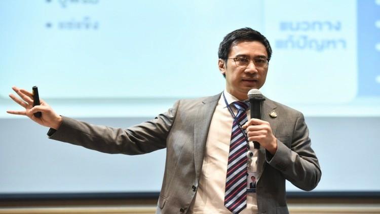 The central bank's governor Sethaput Suthiwartnarueput