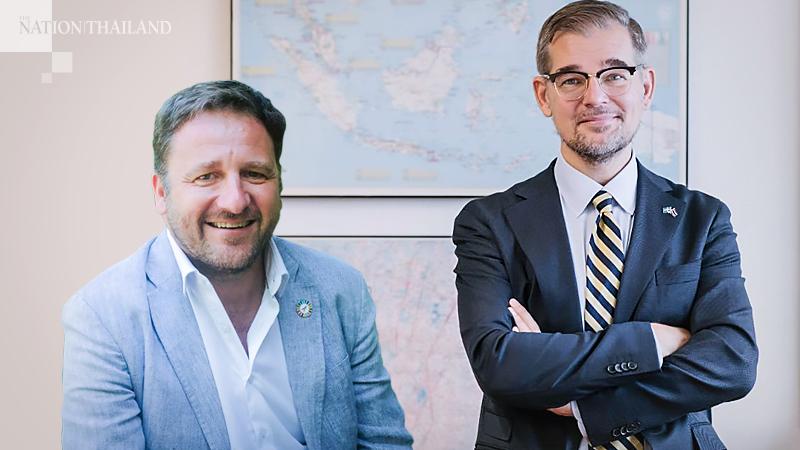 Renaud Meyer and Jon Åström Gröndahl