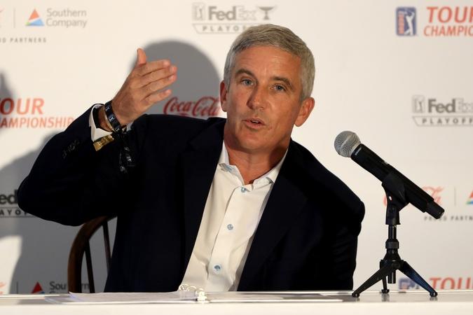 Chief Executive of the European Tour Keith Pelley