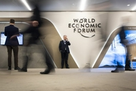 The World Economic Forum will be held in Singapore from May 13-16, 2021.PHOTO: EPA-EFE