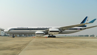Photo of A340-500 airplane (Credit: Facebook Thaifighterclub)