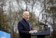 President-elect Joe Biden speaks at a