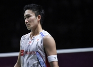 world No. 1 Kento Momota