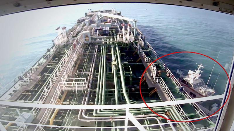 В Мьянму вернутся ещё пять моряков с задержанного властями Ирана танкера