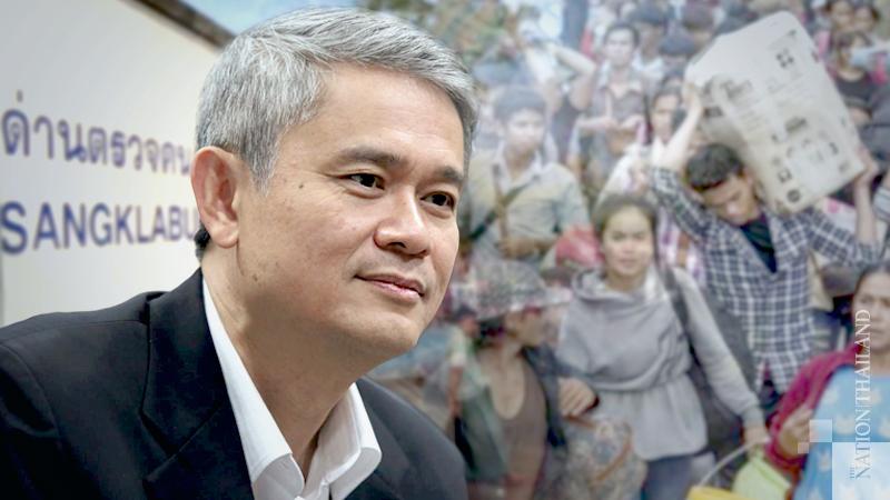 ACT secretary-general Mana Nimitmongkol