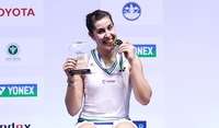 Carolina Marin of Spain