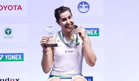 Carolina Marin of Spain