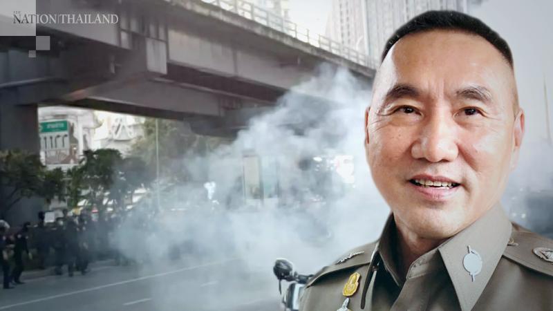 Metropolitan Police chief Pakapong Pongpetra