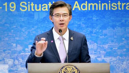 (File Photo) Taweesin Visanuyothin, CCSA spokesman