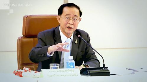 Finance Minister Arkhom Termpittayapaisith
