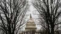 The U.S. Capitol on Monday, Jan. 25, 2021. MUST CREDIT: Washington Post photo by Salwan Georges