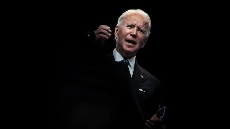 President Biden speaks his week at the White House. MUST CREDIT: Washington Post photo by Jabin Botsford