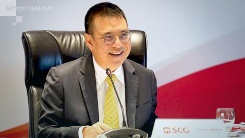 SCG president Roongrote Rangsiyopash