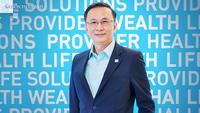 Sawat Naruvorawong, senior executive vice president  of Thai Life Insurance Public Company