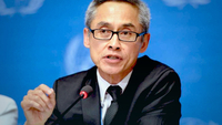 Vitit Muntarbhorn will replace Rhona Smith as UN Special Rapporteur on Human Rights. Jean-Marc Ferre/UN