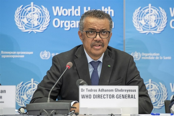 Tedros Adhanom Ghebreyesus, the director-general of the WHO. [Photo/Agencies]
