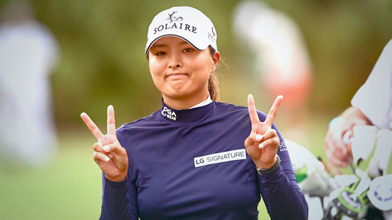 Jin Young Ko (Photo credit to LPGA)