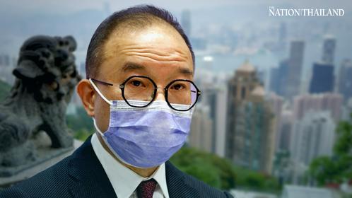 Erick Tsang, Hong Kong's secretary for constitutional and mainland affairs.