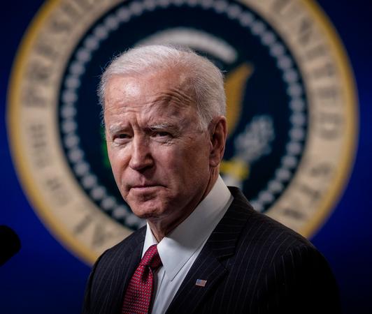 President Joe Biden is shown at the White House in Washington on Feb. 10, 2021. Washington Post photo by Bill O'Leary