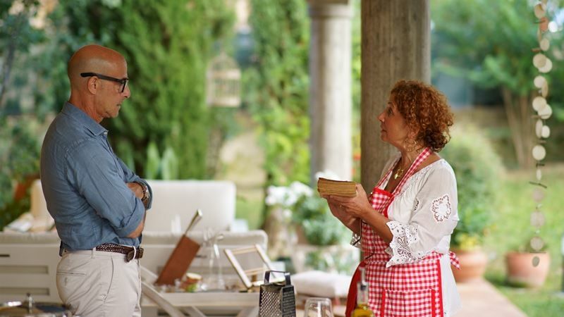 Stanley Tucci travels across Italy to discover the secrets and delights of the country's regional cuisines. MUST CREDIT: photo courtesy of CNN.